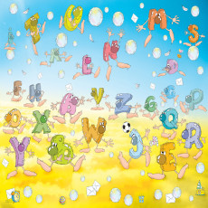 Buy Childrens Alphabet letters murals