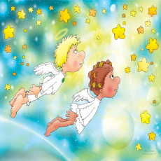 Buy Childrens Angels murals