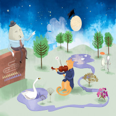 Buy Childrens Nursery rhyme wallpaper murals
