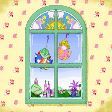 Buy Childrens Window frame murals