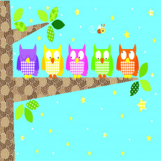 Buy Childrens Owls murals