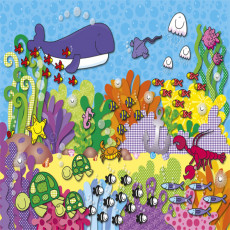 Buy Childrens Under the sea mural