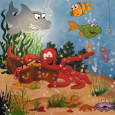 Buy Childrens Underwater murals