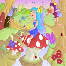 Buy Childrens Fairies murals