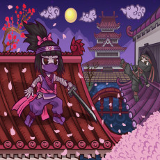 Buy Childrens Shadow Shinobi Ninjas murals