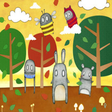 Buy Childrens Robots mural (landscape)s
