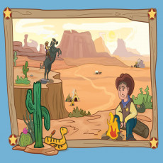 Buy Childrens Cowboy murals