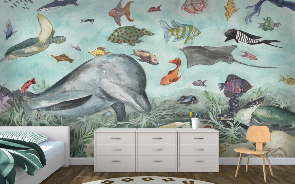 Underwater Themed Bedrooms