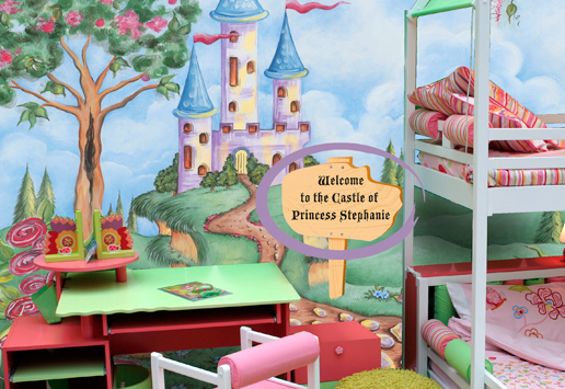 Personalised Murals Helps Transform the Bedroom of Your Child